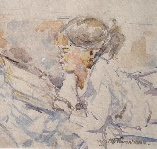 Elezend-29x29-aquarel